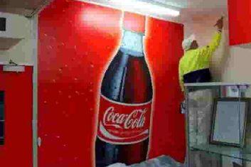 CocaCola graffiti